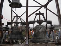 Clopote în Cimitirul Vesel de la Sapanta